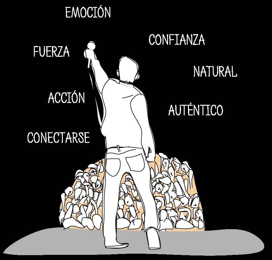 ilustracion Libro Coaching para lideres. Como hablar en publico. Herramientas para desarrollar las capacidades para hablar en público. Daniel Álvarez Lamas, Iria Carbajosa e Innovación Ágil.